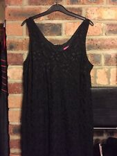 FOR WOMEN SIZE 16 DRESS IN BLACK LACE