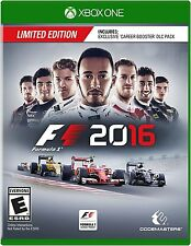XBOX ONE F1 2016 FORMULA 1 BRAND NEW VIDEO GAME LIMITED EDITION