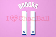 Drogba #11 2011-2012 Chelsea UEFA Chaimpons League Homekit Nameset Printing