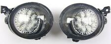 LED Fog Lights Driving Lamps Left Right Fits VW Jetta Golf Scirocco Amarok 03-