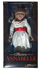 "Mezco Toyz The Conjuring Annabelle 18"" Scaled Movie Prop Replica Doll 2016"
