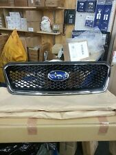 Genuine Subaru OEM Chrome Front Mesh Grille Impreza and XV Crosstrek J1010FJ050