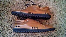 Stuart Weitzman Women's Shoes Brown Color Leather US Size 10 made in Spain