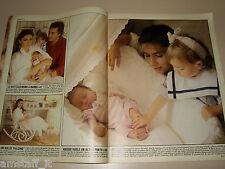 ROMINA POWER AL BANO FAMIGLIA clipping articolo fotografia foto photo 1987