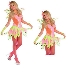 SEXY DELUXE FAIRY RAVE PIXIE HALLOWEEN COSTUME WOMEN'S STANDARD UP TO SIZE 12