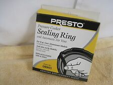 Presto 09901 9901 Pressure Cooker Sealing RIng Gasket & Air Vent Genuine