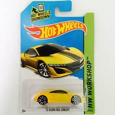 "Hotwheels Honda NSX ""12 ACURA  ( Yellow Sport ) - Hot Pick"