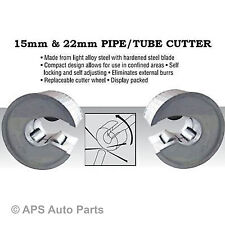 COPPER PIPE TUBE CUTTERS SLICERS PIPESLICE 15MM & 22MM