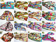Wholesale 10Pcs Fashion 100% Silk Abstract Animals Design Pattern Scarves Shawls
