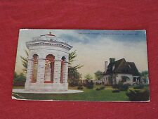 """1910 """"Statue of Victory"""", Shaw's Garden, St. Louis, Mo. Postcard No.1022 VG"""