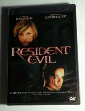 NEW RESIDENT EVIL JOVOVICH RODRIGUEZ ZOMBIES RARE COVER MOVIE DVD