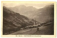 CPA 73 Savoie Hauteluce et le Grand-Mont
