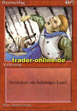 Steinschlag (Stone Rain) Magic limited black bordered german beta fbb foreign de