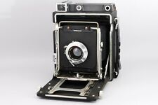 【EXC+++++】GRAFLEX CROWN GRAFIC LINHOF Custom 135mm 5.6 4×5 Large From Japan 389