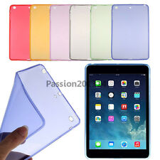 Ultra Thin Soft TPU Silicone Clear Case Cover For Apple iPad 2 3 4  Transparent