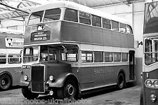Southdown 755 MUF455 Leyland PD2 6x4 Bus Photo Ref P097