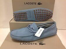 Lacoste Concours Lace Suede Men's Slip on Loafers Shoes, Size UK 8 / EU 42