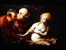 "Guido Reni ""Susannah & The Elders"" 35mm Italian High Baroque Art Slide"