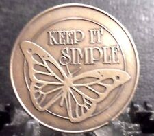 "PREOWNED MEDALLION OF ""KEEP IT SIMPLE"""