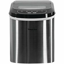 Magic Chef Mcim22st 27lb Ice Maker [stainless]
