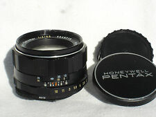 PENTAX Super Takumar 55mm F 2 lens, PENTAX M42 screw mount. sn5649719