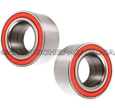 REAR Wheel Bearing Bearings LEFT + RIGHT 33411130617 for BMW E46 E36 E30 SET 2