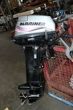 Mariner 15hp 2 Stroke Outboard Boat Motor Engine - Long Shaft - Working Well