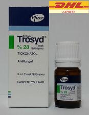 TROSYD %28 Anti Fungal Fungus Treatment Nail Solution by Pfizer 5ml Trosyl buy