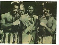 "Sylvester ""Rocky"" Stallone /Carl Weathers Apollo Creed/Fraiser Boxing B+W Photo"