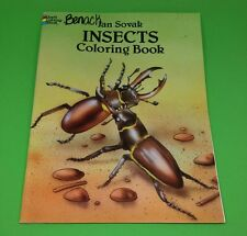 Insects Coloring Book from Dover Publications Jan Sovak Homeschool Science