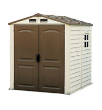 6' x 6'  StoreMate Vinyl Shed with a Floor
