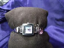 Woman's Quartz Watch with Blue Mother of Pearl Face  B39-672