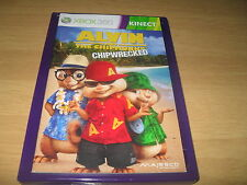 Alvin And The Chipmunks Chipwrecked Xbox 360 PAL Kinect (No Cover) FAST POST