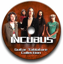 INCUBUS ROCK GUITAR TABS TABLATURE SONG BOOK SOFTWARE CD