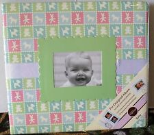 Colorbok 12 x 12 Post-Bound Memory Book Pre-Designed Album~Baby~10 Sleeves/20Pgs