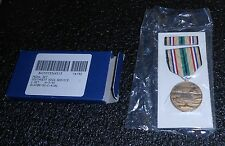 SOUTHWEST ASIA SERVICE MEDAL & PIN SET, ISSUE 3/92, REG. SIZE, SEALED & NEW!