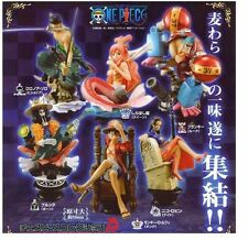 6pcs One Piece Chess Piece Collection 8.5cm-11cm PVC Figure Set New In Box