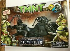 TMNT 2007 Nightwatcher, Stunt Rider With Super Rarr Helmet On, Unopened CGI