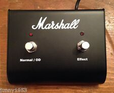 Marshall PEDL-90009 2-button Footswitch Haze series and other amps amplfiers