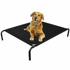Elevated Pet Bed For Dog Cat Folding Portable Raised Cot Indoor Outdoor Camping