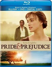 PRIDE & PREJUDICE New Sealed Blu-ray + DVD Keira Knightley