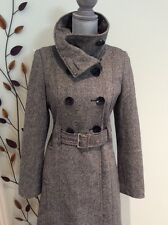 Guess Wool Gray Coat Size Small