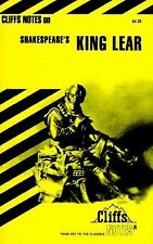 Cliffsnotes KING LEAR Shakespeare Cliffs notes