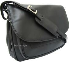 Ladies Shoulder Bag Real Soft Leather Black Visconti Soft Large New 2195