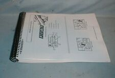 Fiat  2000 Spider FACTORY PARTS MANUAL  1979-82  124