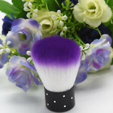 Beauty Purple White Nail Brush For Acrylic & UV Gel Nail Art Dust Cleaner Tools