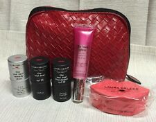 Laura Geller Try Me Kit/Set, Travel Size, LIGHT Foundation, Blush, Primer, Lips