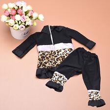 Baby Doll Leopard Kleidung Anzug für 18-Zoll-American Girl Puppe Geschenke Neu