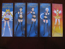 Sailor Star Lights Galaxia Eternal Sailor Moon bookmark set Seiya Taiki Yaten