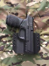Black Carbon Fiber Kydex Holster M&P Full Size 9/40/357